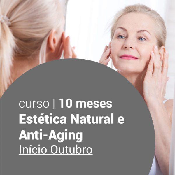 Curso de Estética Natural e Anti-Aging
