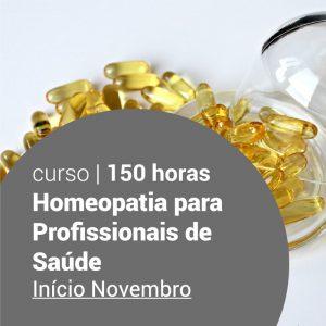 Curso Homeopatia para Profissionais de Saúde