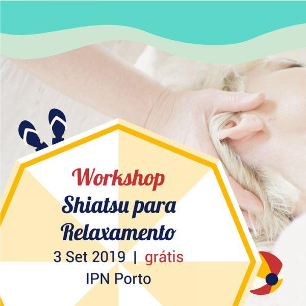 Workshop Shiatsu para Relaxamento