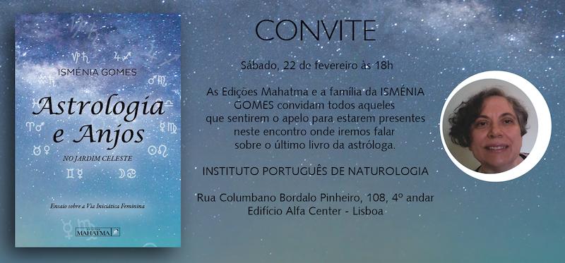 """Apresentação do Livro """"Astrologia e Anjos"""""""